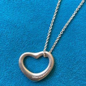 Authentic Tiffany & Co Elsa Peretti Open Heart